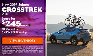 2019 Subaru Crosstrek - July
