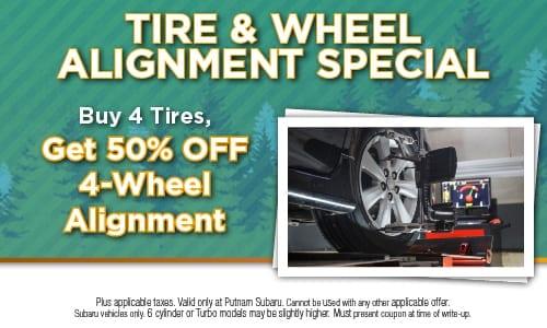 Tire & Wheel Alignment Special