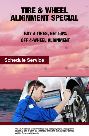 Tire & Wheel Alignment Special
