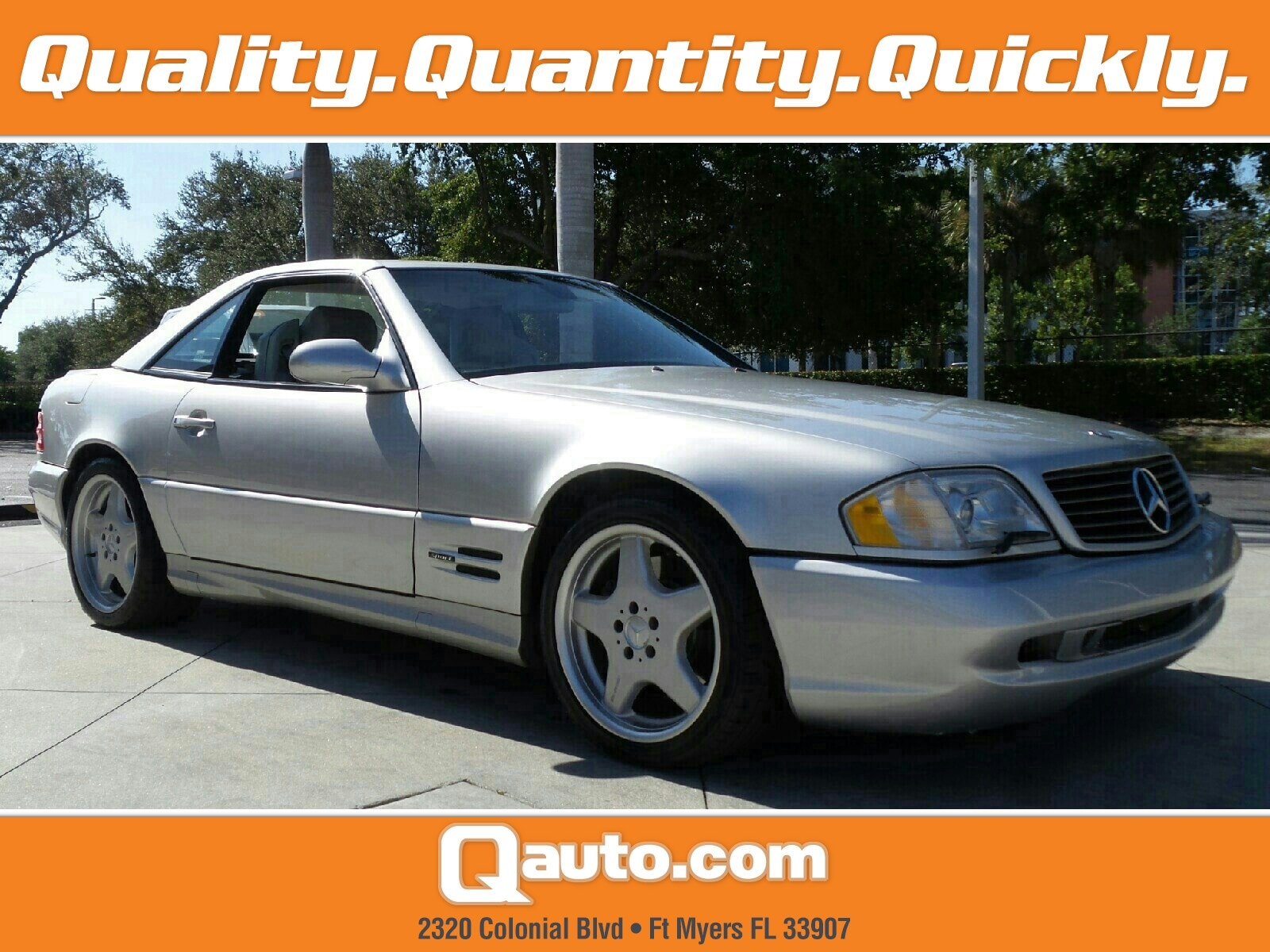 1999 Mercedes-Benz SL500 Sport Convertible