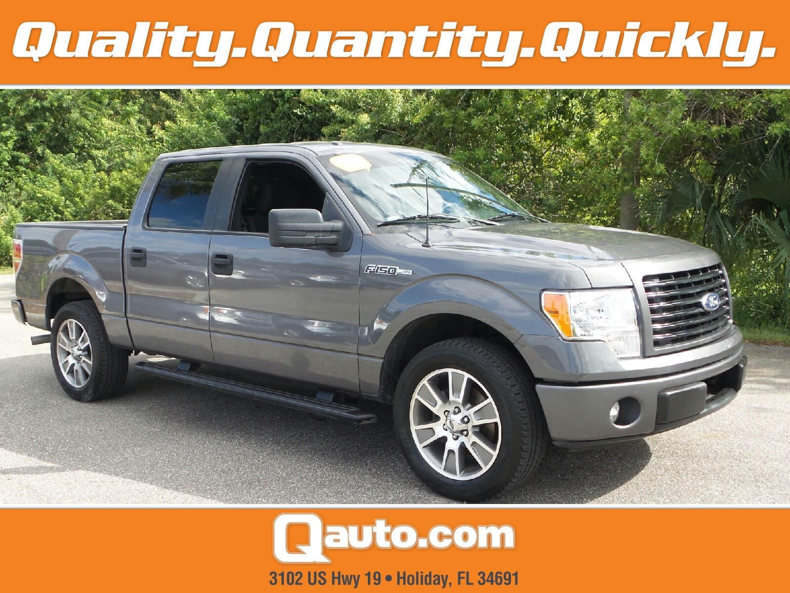2014 Ford F-150 XL Truck SuperCrew Cab