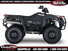 SUZUKI KingQuad 750AXi Power Steering Limited Edition 2018 !!! 400$ DE RABAIS !!! 47$/SEMAINE