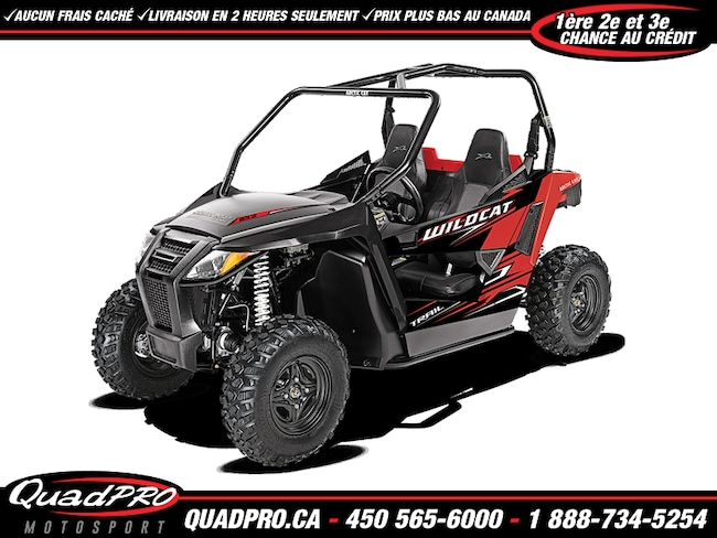 ARCTIC CAT Wildcat Trail 2017 50,67$/semaine à Mirable