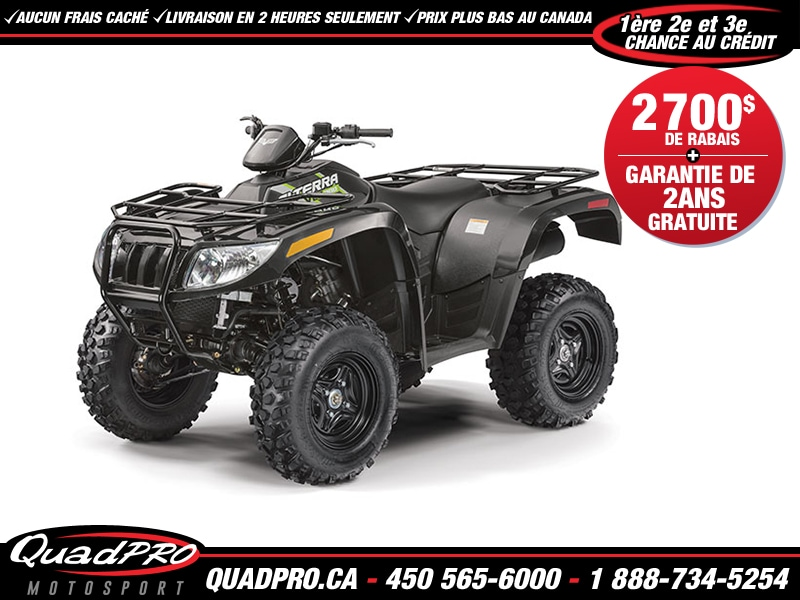ARCTIC CAT Alterra 700 2017 VLX - TEXTRON DEMO - 29$/semaine