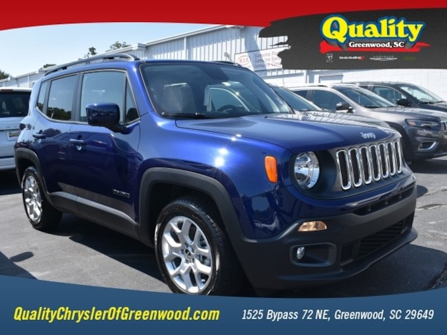 New 2018 Jeep Renegade LATITUDE 4X2 Sport Utility Greenwood, SC