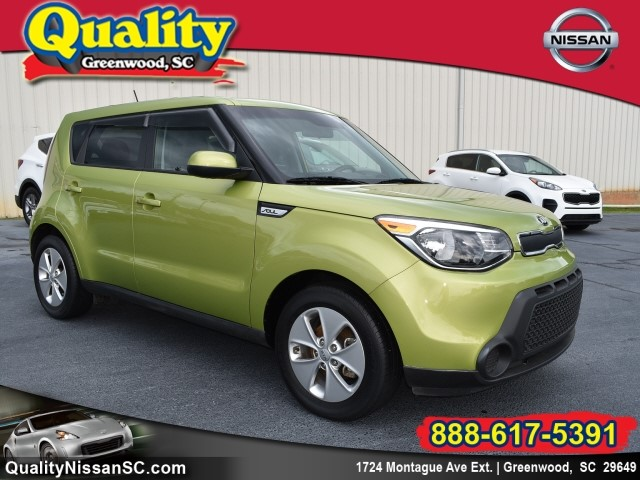 2016 Kia Soul Base Wagon 6A