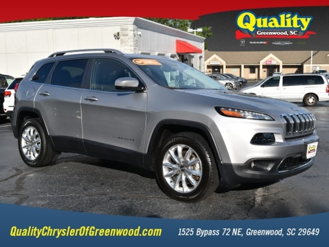 Certified 2017 Jeep Cherokee Limited 4x4 Limited  SUV Greenwood, SC