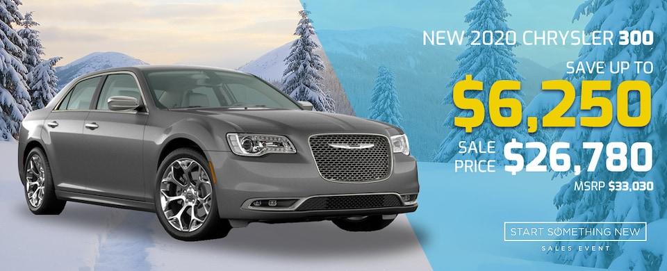 2020 Chrysler 300 for $26,780!