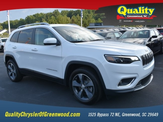 New 2019 Jeep Cherokee LIMITED FWD Sport Utility Greenwood, SC