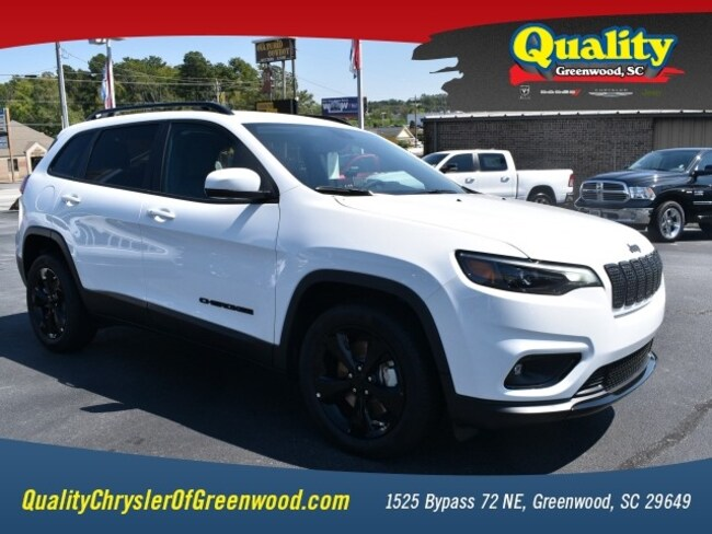 New 2019 Jeep Cherokee ALTITUDE FWD Sport Utility Greenwood, SC