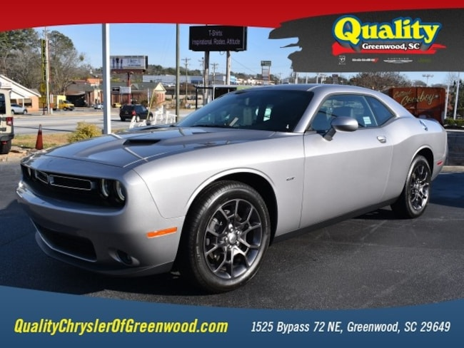 New 2018 Dodge Challenger GT ALL-WHEEL DRIVE Coupe Greenwood, SC