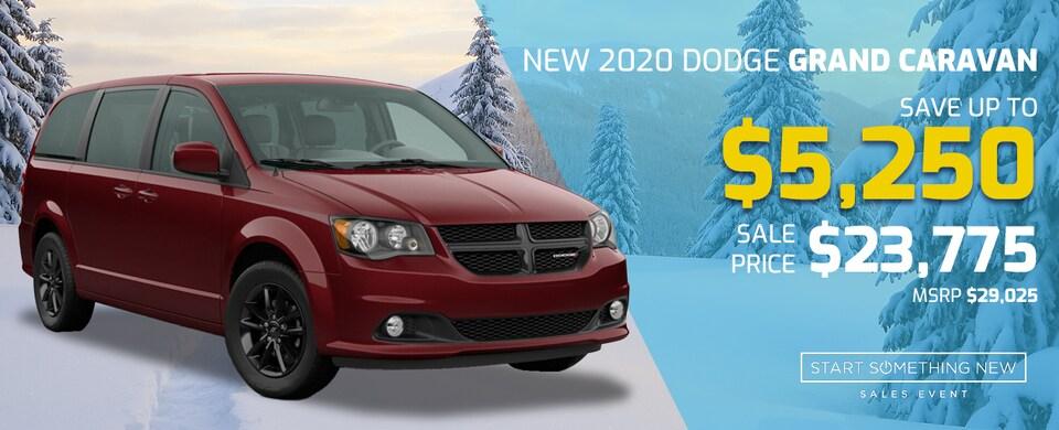 2020 Dodge Grand Caravan for 23,775!