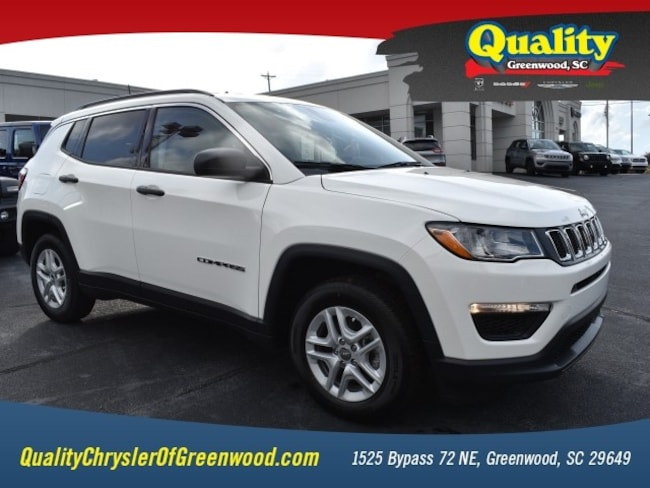 New 2019 Jeep Compass SPORT FWD Sport Utility Greenwood, SC