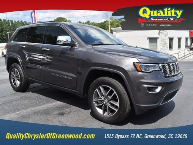 Certified 2018 Jeep Grand Cherokee Limited 4x4 Limited  SUV Greenwood, SC
