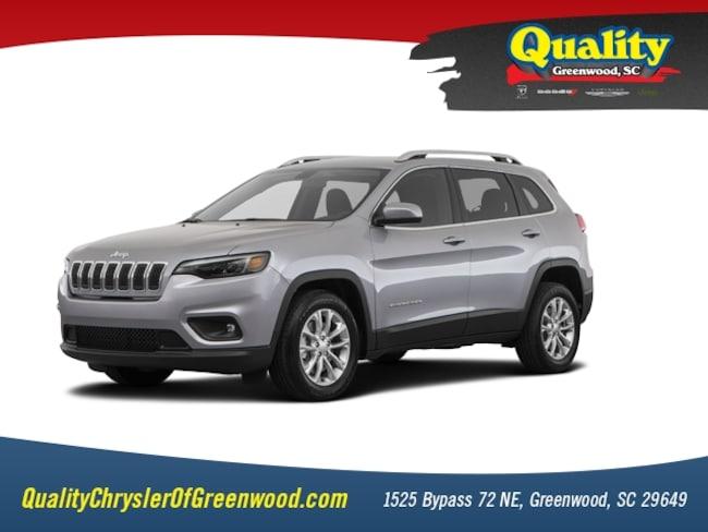New 2019 Jeep Cherokee LATITUDE FWD Sport Utility Greenwood, SC