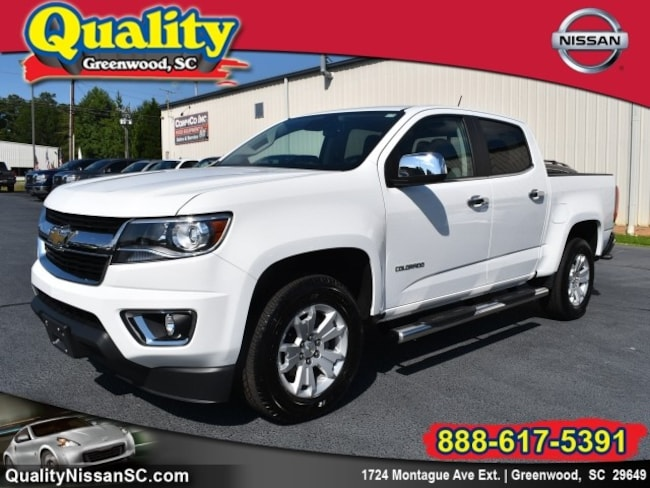 Used 2016 Chevrolet Colorado LT 4x2 LT  Crew Cab 5 ft. SB Greenwood, SC