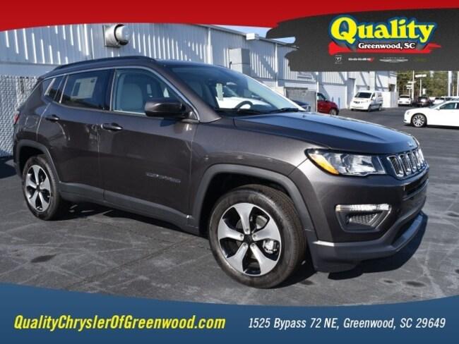 New 2018 Jeep Compass LATITUDE FWD Sport Utility Greenwood, SC