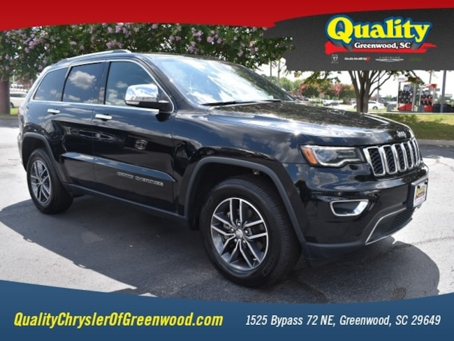 Certified 2018 Jeep Grand Cherokee Limited 4x2 Limited  SUV Greenwood, SC