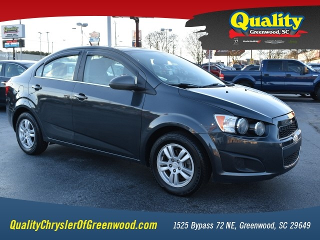 Used 2014 Chevrolet Sonic Lt Auto For Sale In Greenwood Sc Vin