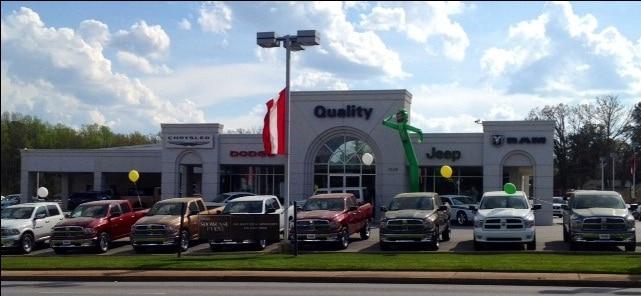 About Quality Chrysler of Greenwood | Greenwood Car Dealership
