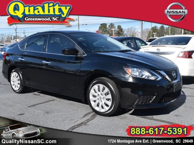 Used 2017 Nissan Sentra SV SV  Sedan Greenwood, SC