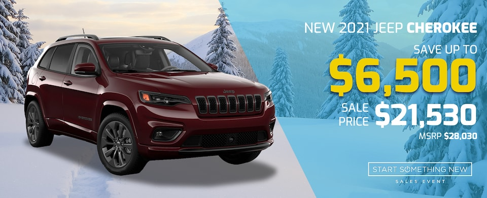 2021 Jeep Cherokee for just $21,530!