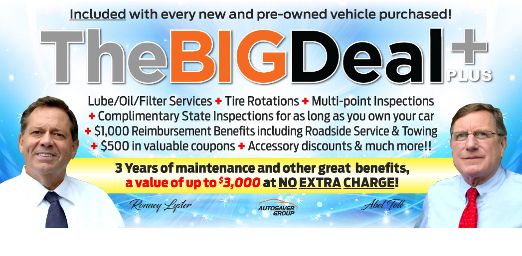 Big Deal Plus+ Maintenance Program