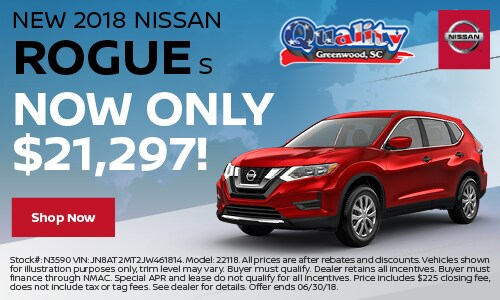 Quality Nissan of Greenwood | New Nissan dealership in Greenwood, SC