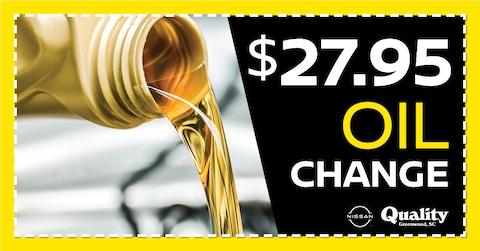 $27.95 Oil Change