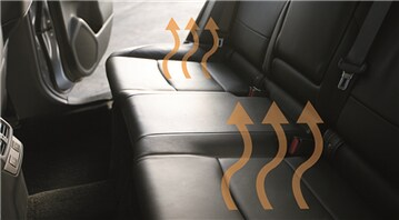 2017 Legacy Dual-Mode Heated Rear Seats