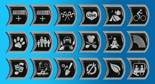Subaru Ownership Badges