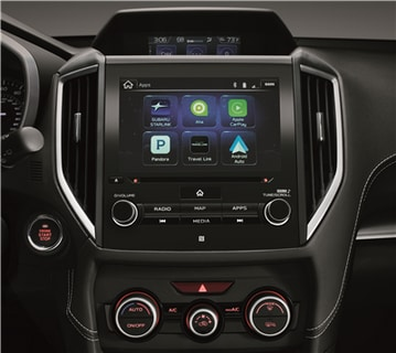 2017 Subaru Impreza Integrated Apps