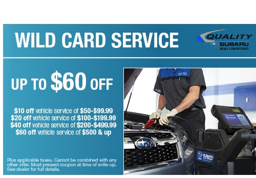 Subaru coupons for service
