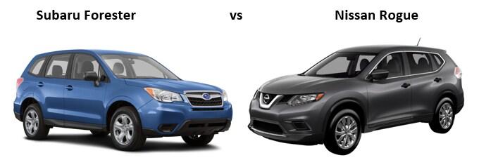 Subaru Forester Vs Nissan Rogue