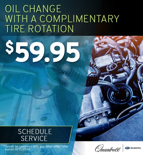 Oil Change with Complimentary Tire Rotation