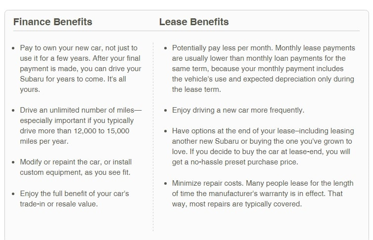compare and contrast lease versus purchase option A capital lease, in contrast to an operating lease  the lease contains an option to purchase the equipment at the end of the lease for substantially less than.