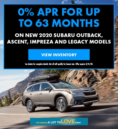 August 0% APR for up to 63 months