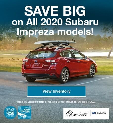 Share the Love Subaru Impreza
