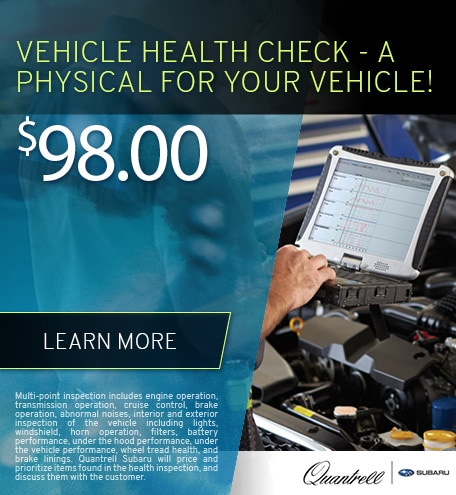 Vehicle Health Check