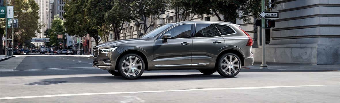 Volvo XC60 in the city