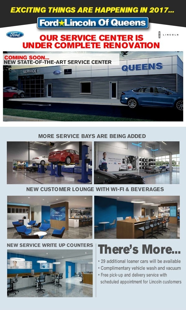 Ford Service Center Ford Lincoln Of Queens