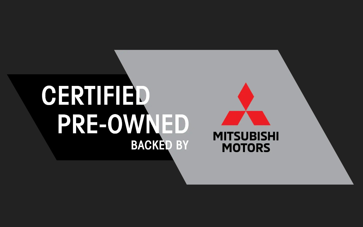Certified Pre-Owned Mitsubishi backed by Mitsubishi Motors
