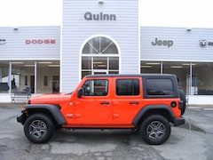 New 2019 Jeep Wrangler UNLIMITED SPORT S 4X4 Sport Utility in Gloucester, VA