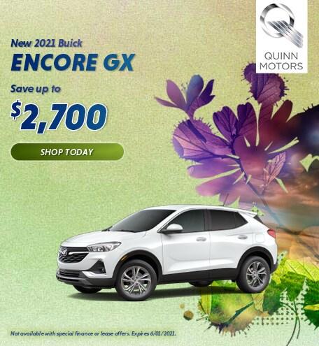 New 2021 Buick Encore GX