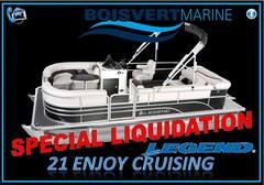 2017 Legend Boats 21 ENJOY CRUISING (NEUF)  $ SPÉCIAL LIQUIDATION $