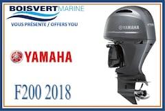 2018 YAMAHA F200