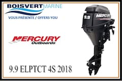 2018 MERCURY 9.9 ELPT CT 4S