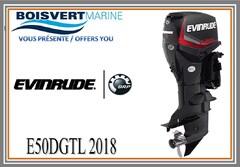 2018 EVINRUDE E50DGTLAG NEUF