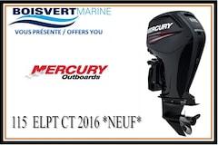 2016 MERCURY 115 ELPT CT  *NEUF*