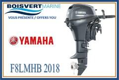 2018 YAMAHA F8LMHB (PIED LONG) (DÉMARRAGE MANUEL)